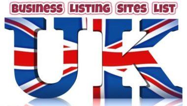 UK Business Listing Websites List 2019